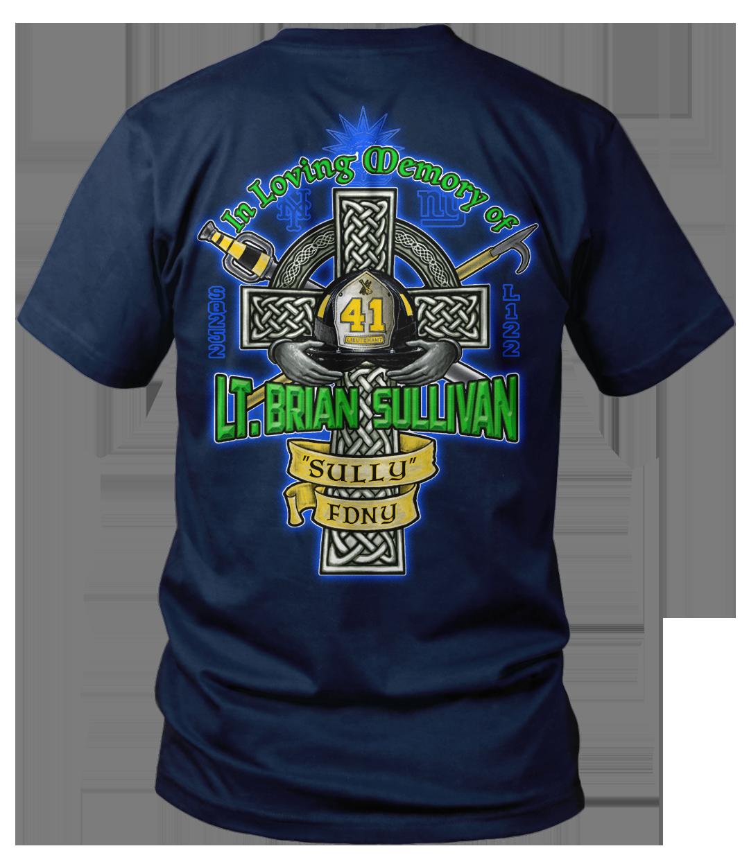Lt. Brian Sullivan Memorial Shirt